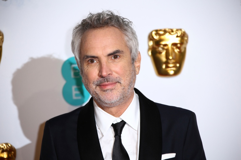 Alfonso Cuaron poses for photographers upon arrival at the BAFTA awards in LondonBAFTA Film Awards 2019 Arrivals, London, United Kingdom - 10 Feb 2019