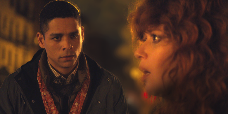 "Charlie Barnett and Natasha Lyonne, ""Russian Doll"""