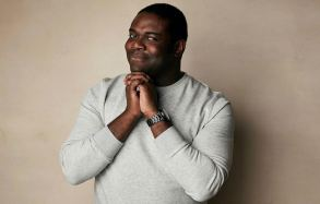 """Sam Richardson poses for a portrait to promote the film """"Bootstrapped"""" at the Salesforce Music Lodge during the Sundance Film Festival, in Park City, Utah2019 Sundance Film Festival - """"Bootstrapped"""" Portrait Session, Park City, USA - 28 Jan 2019"""