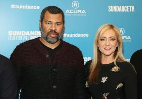 "Jordan Peele, Lorena Gallo, Lorena Bobbitt. Executive Producer Jordan Peele, left, and documentary subject Lorena Gallo, right, pose at the premiere of the film ""Lorena"" during the 2019 Sundance Film Festival, in Park City, Utah2019 Sundance Film Festival - ""Lorena"" Premiere, Park City, USA - 29 Jan 2019"