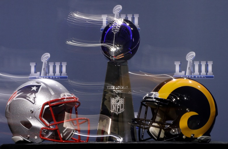 Super Bowl 53 Patriots Rams