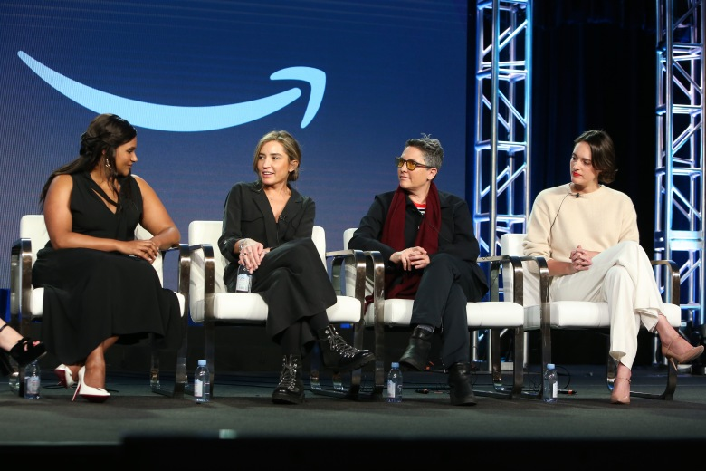 Mindy Kaling, Reed Morano, Jill Soloway and Phoebe Waller-BridgeAmazon Prime 'Visionary Voices' TV Show Panel, TCA Winter Press Tour, Los Angeles, USA - 13 Feb 2019