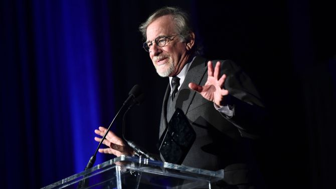 Steven Spielberg55th Annual CAS Awards, Inside, InterContinental Downtown, Los Angeles, USA - 16 Feb 2019