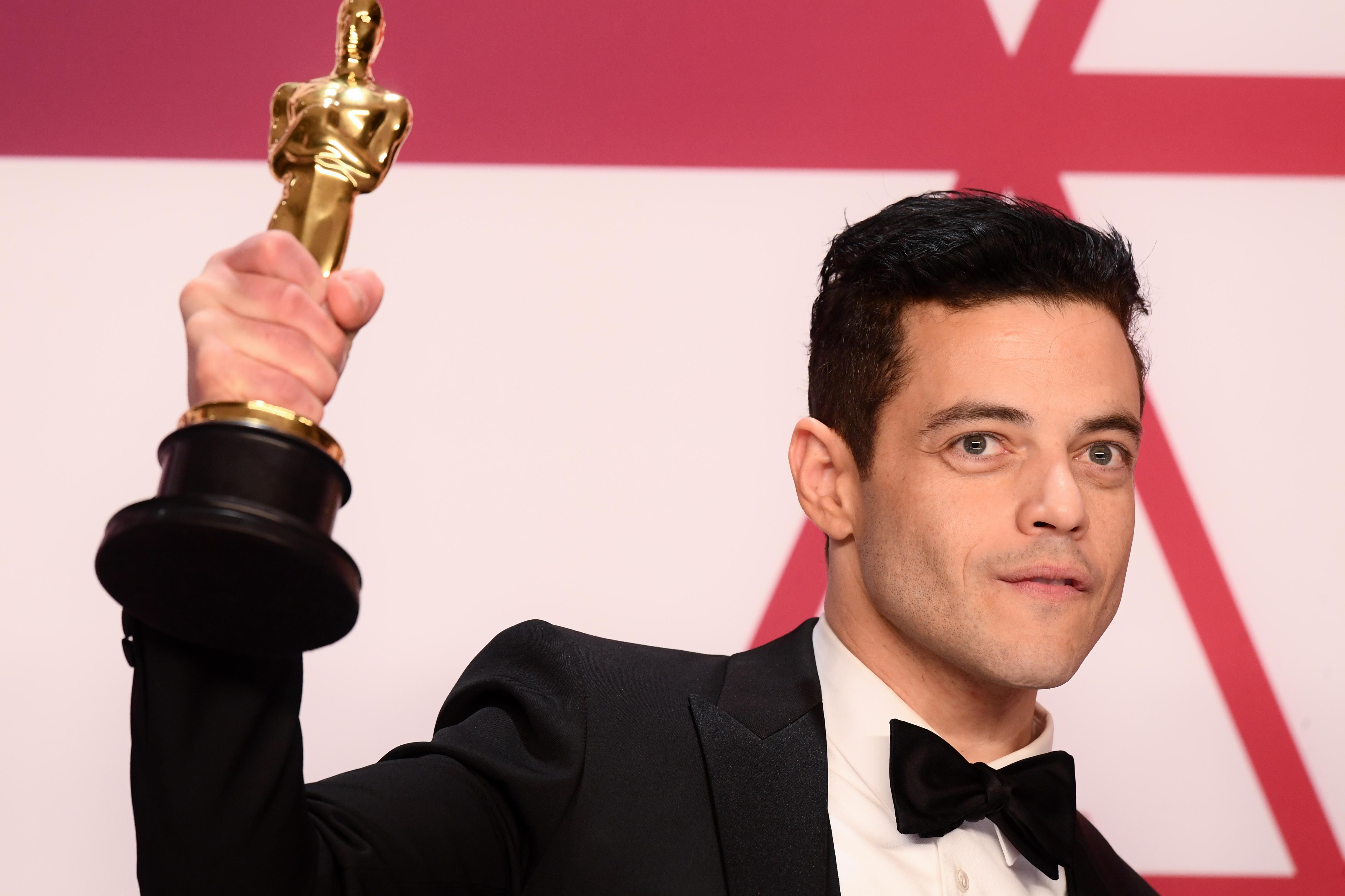 Rami Malek - Lead Actor - 'Bohemian Rhapsody'91st Annual Academy Awards, Press Room, Los Angeles, USA - 24 Feb 2019