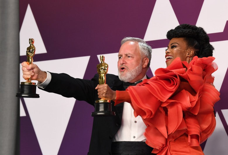 Hannah Beachler and Jay Hart - Production Design - 'Black Panther'91st Annual Academy Awards, Press Room, Los Angeles, USA - 24 Feb 2019