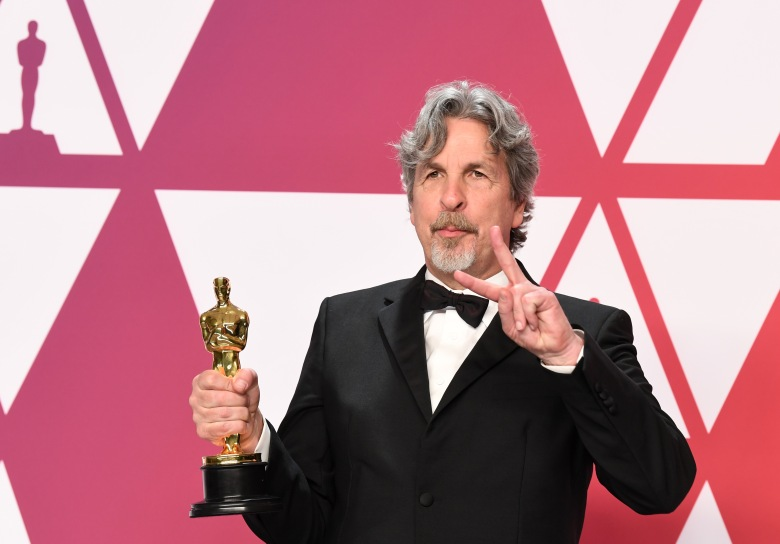 Peter Farrelly - Best Picture - ÔGreen BookÕ91st Annual Academy Awards, Press Room, Los Angeles, USA - 24 Feb 2019