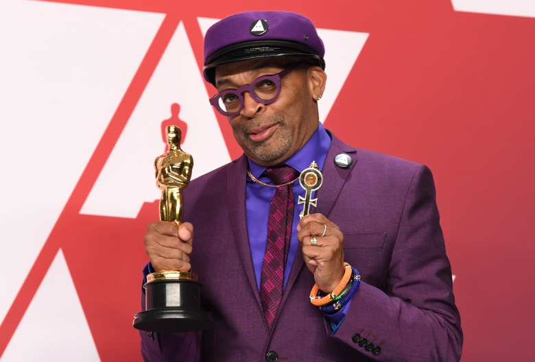 Spike Lee - Best Adapted Screenplay - 'BlacKkKlansman'91st Annual Academy Awards, Press Room, Los Angeles, USA - 24 Feb 2019