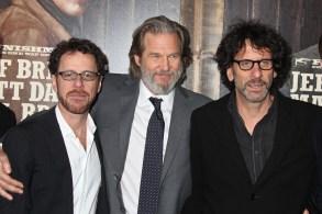 Ethan Coen, Jeff Bridges and joel Coen'True Grit' film premiere, New York, America - 14 Dec 2010