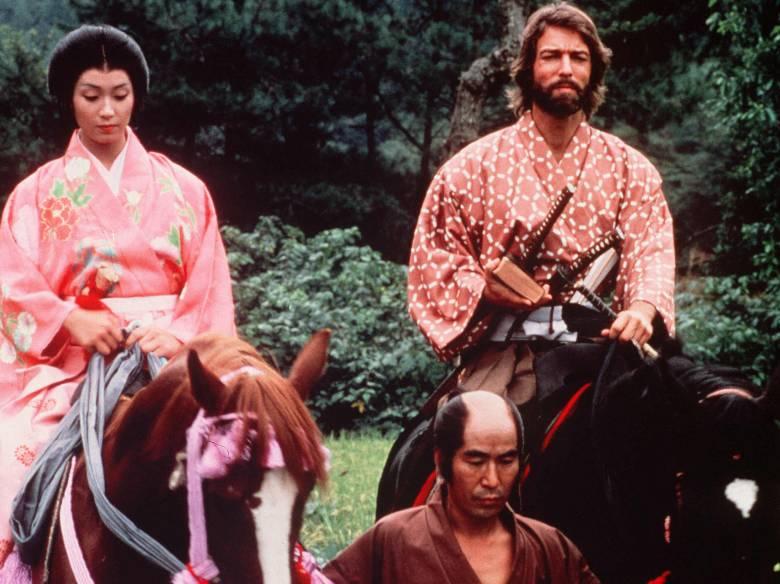 """Yoko Shimada, Richard Chamberlain, """"Shogun"""""""