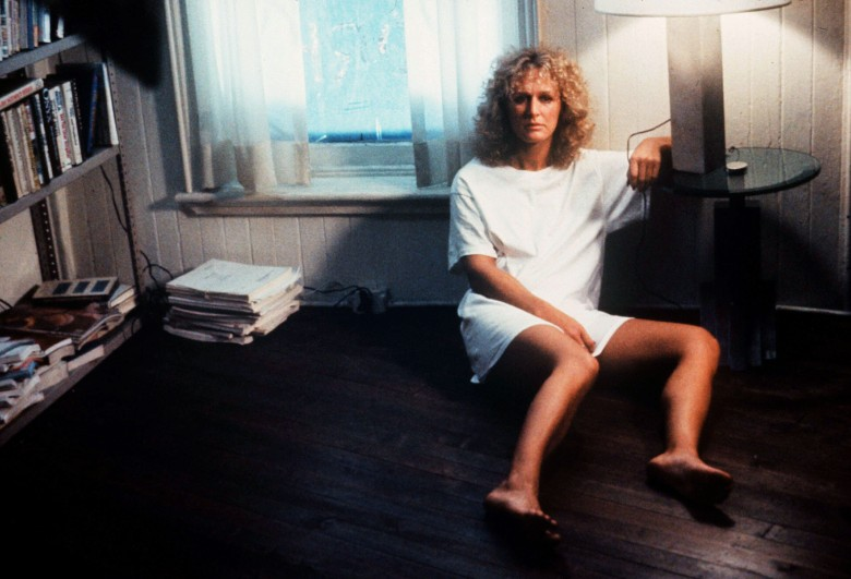 Editorial use only. No book cover usage.Mandatory Credit: Photo by Paramount/Kobal/REX/Shutterstock (5885765p)Glenn CloseFatal Attraction - 1987Director: Adrian LyneParamountUSAScene StillLiaison fatale