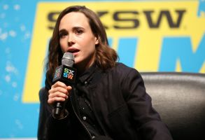 Ellen Page speaks at a panel discussion during South By Southwest at the Austin Convention Center, in Austin, Texas2016 SXSW - Ellen Page and Ian Daniel Keynote, Austin, USA - 12 Mar 2016