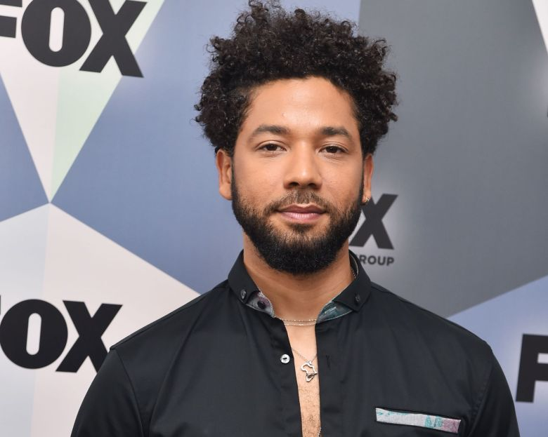 Jussie SmollettFox Upfront Presentation, Arrivals, New York, USA - 14 May  2018
