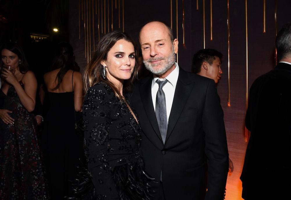 Keri Russell, John Landgraf70th Primetime Emmy Awards, Fox Party Inside, Los Angeles, USA - 17 Sep 2018