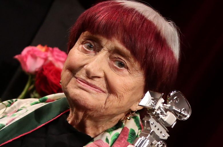 Agnes Varda is awarded the Berlinale Camera during the premiere of 'Varda by Agnes' (Varda par Agnes) at the 69th annual Berlin Film Festival, in Berlin, Germany, 13 February 2019. The movie, which plays out of competition, will world premiere at the Berlinale that runs from 07 to 17 February.Varda by Agnes Premiere ? 69th Berlin Film Festival, Germany - 13 Feb 2019