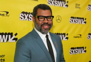 """Jordan Peele arrives for the world premiere of """"US"""" at the Paramount Theatre on the opening night of the SXSW Film Festival, in Austin, Texas2019 SXSW - """"US"""", Austin, USA - 08 Mar 2019"""