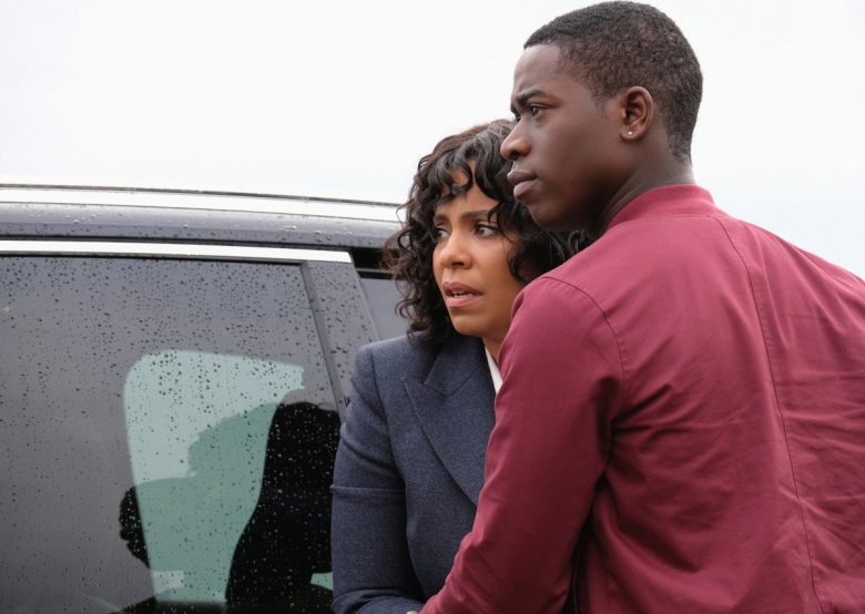 "Sanaa Lathan and Damson Idris, ""The Twilight Zone"""