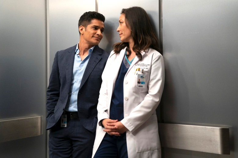 "Nicholas Gonzalez and Christina Chang, ""The Good Doctor"""