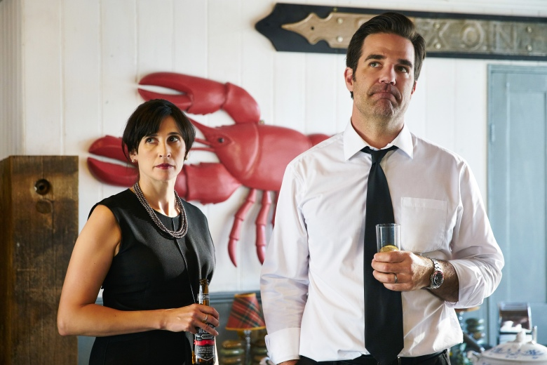 "Michaela Watkins and Rob Delaney, ""Catastrophe"""