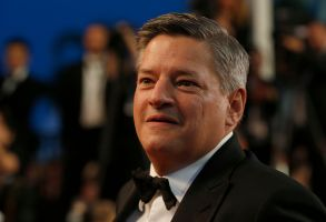 Ted Sarandos, Chief Content Officer of Netflix poses for photographers following the screening of the film The Meyerowitz Stories at the 70th international film festival, Cannes, southern France2017 The Meyerowitz Stories Departures, Cannes, France - 21 May 2017
