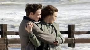 Keira Knightley and James McAvoy Atonement