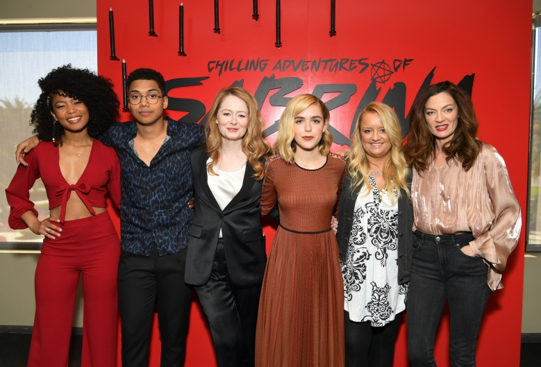 """Chilling Adventures of Sabrina"" cast at Netflix FYSee event in Los Angeles"