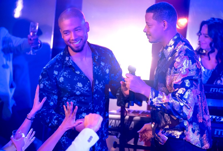 "Jussie Smollett andTerrence Howard, ""Empire"""