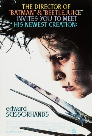 Tim Burton's Career in Posters, From 'Edward Scissorhands' to 'Dumbo'