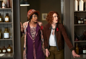 "Chantel Riley and Lauren Lee Smith, ""Frankie Drake Mysteries"""
