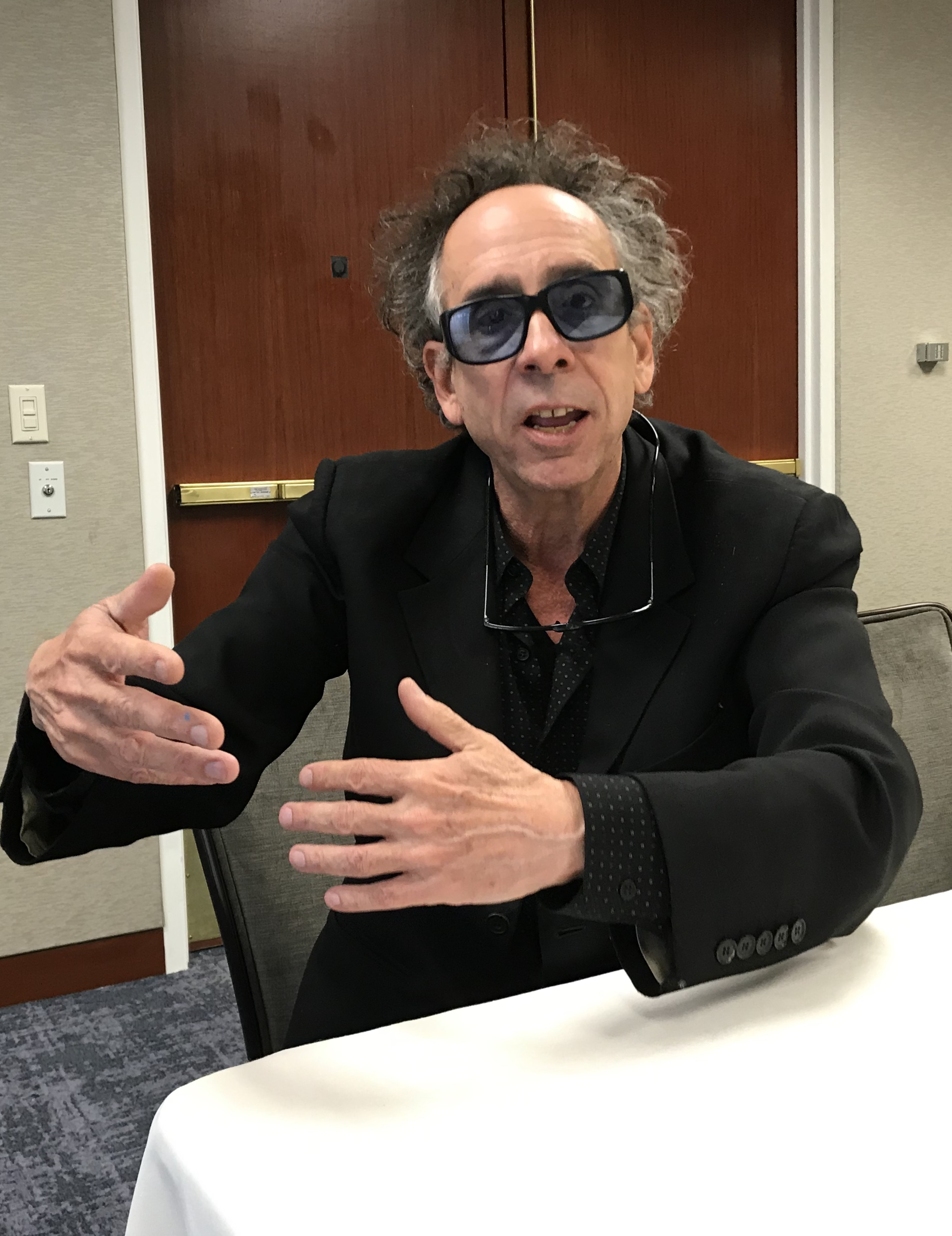 With Dumbo, Tim Burton Says He's OK With Being Disney's Pet