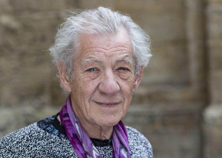 Sir Ian McKellenFT Weekend Oxford Literary Festival, Oxford, Britain - 03 Apr 2016