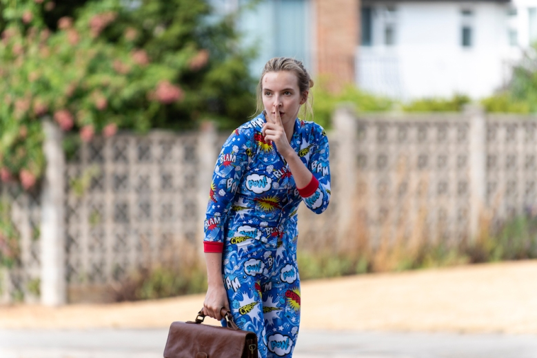Jodie Comer as Villanelle - Killing Eve _ Season 2, Episode 2 - Photo Credit: Parisa Taghizadeh/BBCAmerica