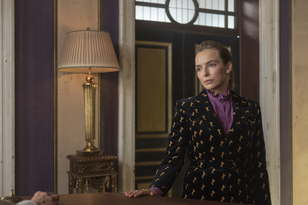 Jodie Comer as Villanelle - Killing Eve _ Season 2, Episode 3 - Photo Credit: Parisa Taghizadeh/BBCAmerica