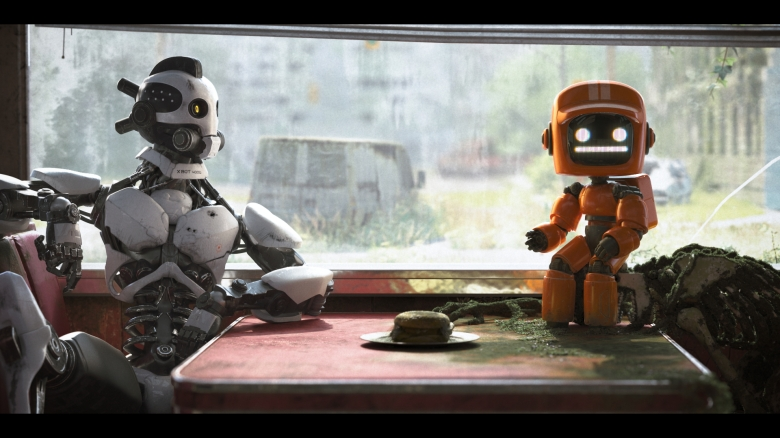 Love Death and Robots Three Robots