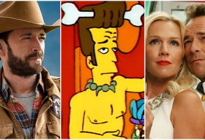 "Luke Perry in ""Love in Paradise,"" ""The Simpsons,"" and ""Community"""
