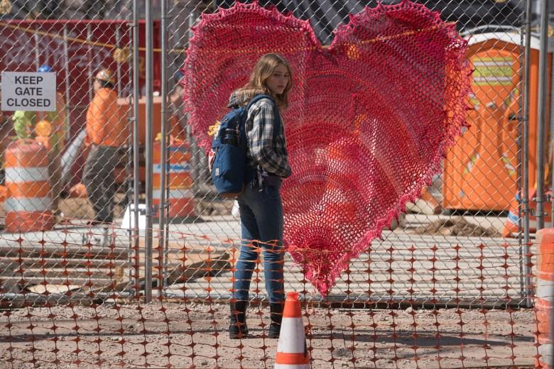 "THE VILLAGE -- ""Pilot"" Episode 101 -- Pictured: Grace Van Dien as Katie Campbell -- (Photo by: Peter Kramer/NBC)"