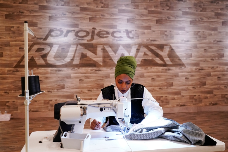 "Designer Renee HIll, ""Project Runway"""