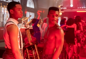 "POSE -- ""Love Is The Message"" -- Season 1, Episode 6 (Airs Sunday, July 8, 9:00 p.m. e/p) Pictured (l-r):  Ryan Jamaal Swain as Damon, Dyllon Burnside as Ricky. CR: JoJo Whilden/FX"