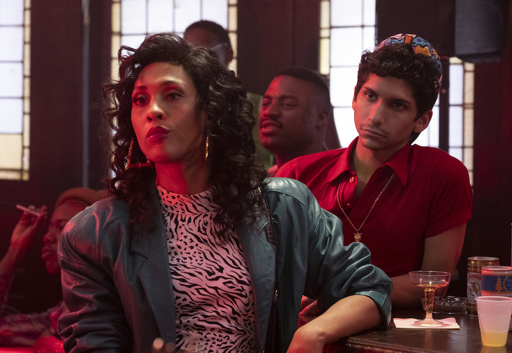 """POSE -- """"Love Is The Message"""" -- Season 1, Episode 6 (Airs Sunday, July 8, 9:00 p.m. e/p) Pictured (l-r): Mj Rodriguez as Blanca, Angel Bismark Curiel as Lil Papi. CR: JoJo Whilden/FX"""