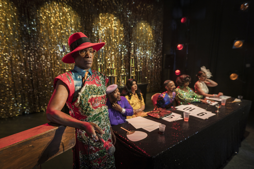 "POSE -- ""Revelations"" -- Season 2, Episode 8 (Airs Tues, August 6, 10:00 p.m. e/p) Pictured (l-r): Billy Porter as Pray Tell. CR: Michael Parmelee/FX"