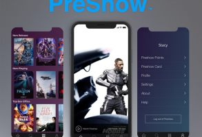 PreShow movie ticket app