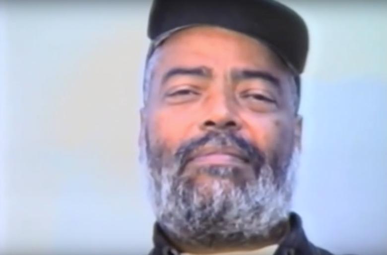 Med Hondo in Gérard Courant's 1995 short silent film portrait