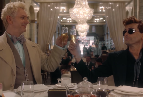 Good Omens trailer screenshot