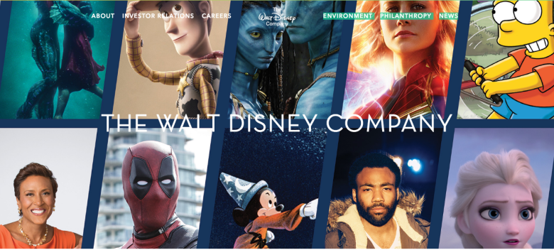 The Walt Disney Company Home Page