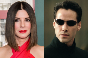 Sandra Bullock and 'The Matrix'