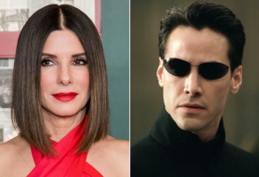 Sandra Bullock and 'The Matrix'