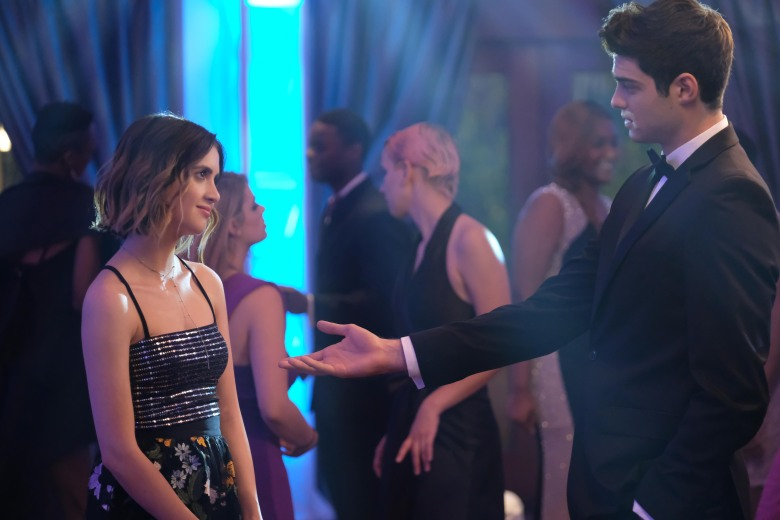 """Laura Marano and Noah Centineo, """"The Perfect Date"""""""