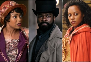 "Chantel Riley of ""Frankie Drake Mysteries,"" David Oyelowo of ""Les Miserables,"" and Rosalind Eleazar of ""Harlots"""