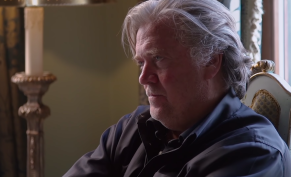 The Brink Trailer Steve Bannon