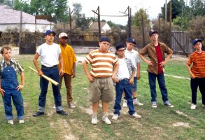 Editorial use only. No book cover usage.Mandatory Credit: Photo by Moviestore/REX/Shutterstock (1640049a)The Sandlot Kids, Shane Obedzinski, Mike Vitar, Brandon Adams, Patrick Renna, Chauncey Leopardi, Victor Dimattia, Grant Gelt, Tom GuiryFilm and Television
