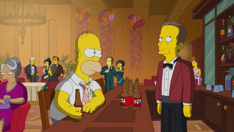 """THE SIMPSONS: Lisa is scouted by the director of the Capitol City Philharmonic, to her band teacher's dismay. Homer works extra shifts at the plant so Lisa can play, putting strain on the family in the """"Girl's in the Band"""" episode of THE SIMPSONS airing Sunday, March 31 (8:00-8:30 PM ET/PT) on FOX. Guest voice Dave Matthews"""